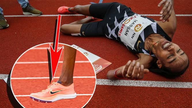 Jury FBK Games neemt schoenen in beslag van Sifan Hassan