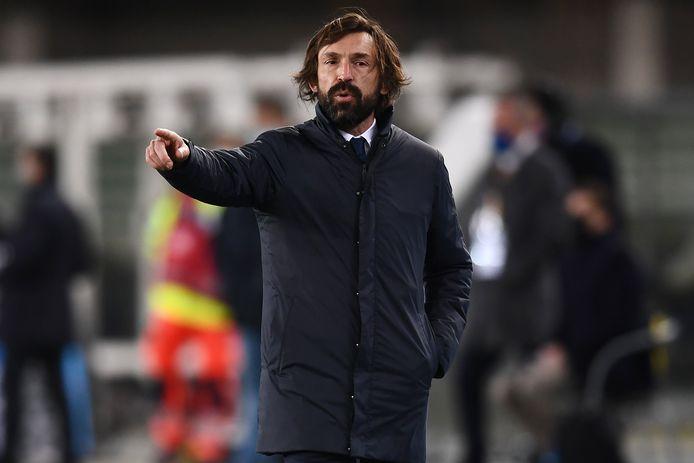 Juventus-coach Andrea Pirlo.
