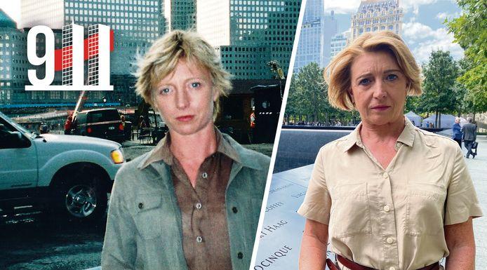 Greet De Keyser aan Ground Zero: 2001 versus 2021.
