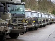 Verwarde man steelt pasje van militair en steelt defensietruck in Oirschot