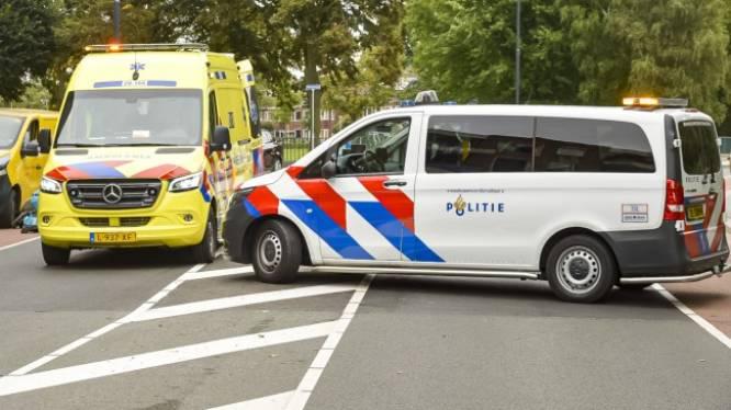 Stadsbus botst met voetgangster in Breda