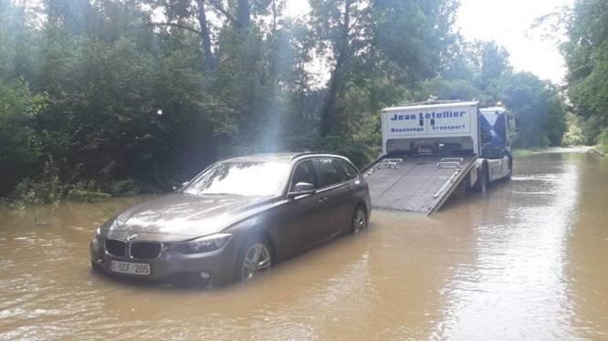 Het blijft opletten voor wateroverlast door stijgende Winge: politie grijpt in aan Aarschotsesteenweg