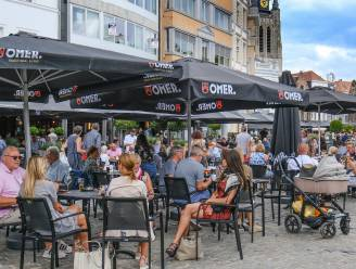 """Enkel terrasjes weer open vanaf 1 mei? Kortrijkse horeca-uitbaters zijn niet overenthousiast: """"Alleen goed idee als steun niet wegvalt"""""""