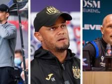 Blessin, Clement et Kompany nominés pour le titre d'entraîneur de l'année