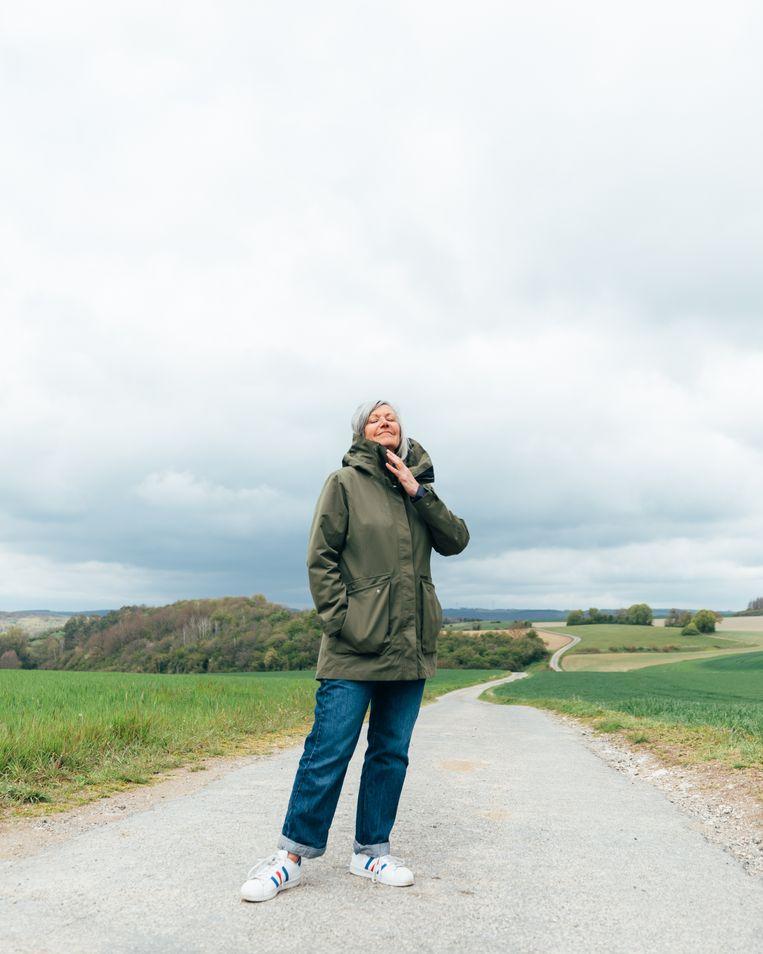 Annick Ruyts: 'Van het bruisende stadsleven was toch niets meer overgebleven.' Beeld Rebecca Fertinel