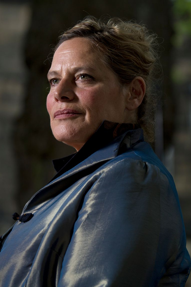 Deborah Levy. Beeld Colin McPherson/Getty Images