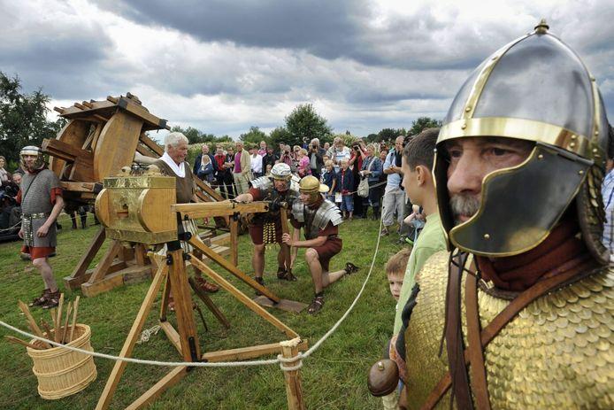 Het Romeinenfestival op Kops Plateau.