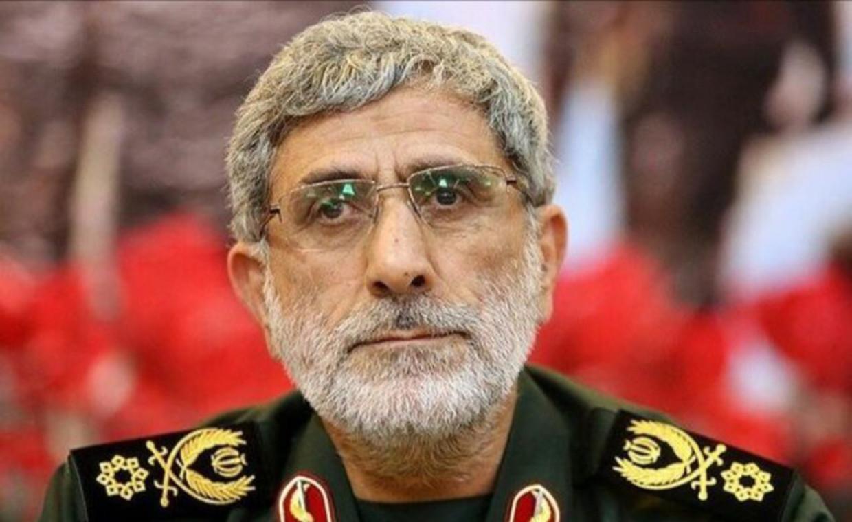 De nieuwe leider van de Quds Brigade van de Revolutionaire Garde, Esmail Qaani. Beeld AFP