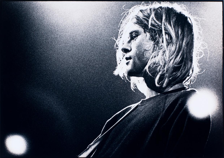Kurt Cobain, 1991. Beeld Getty Images