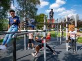 'Outdoor'-fitness bij Kandinsky College is nu al een hit