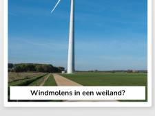 Swipe links of rechts bij Tinder voor windmolens in de Achterhoek