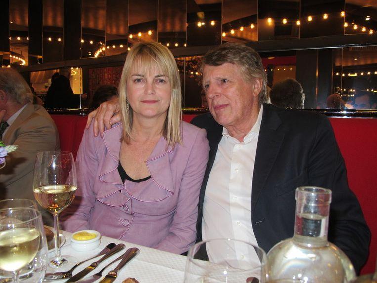 Willy en Hans Gobes komen al tientalle jaren in de restaurants van Joop. Beeld Frank Kromer