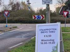 Provincie haalt reclamebord voor stamppotten drive thru weg: 'Kinderachtige actie'