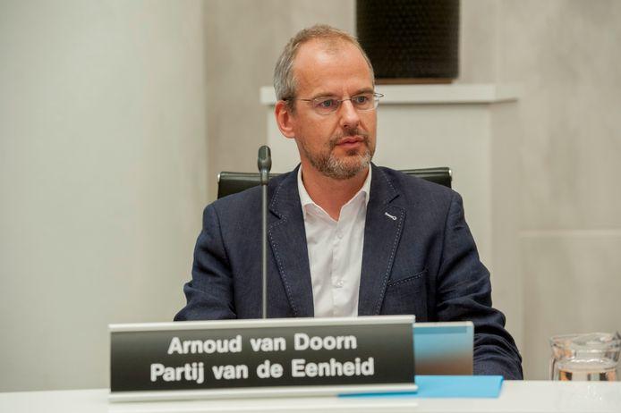 Raadslid Arnoud van Doorn van de Partij van de Eenheid
