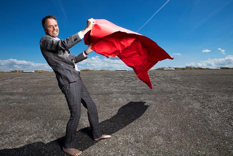 Adriaan Geuze is landschapsarchitect, hoogleraar landschapsarchitectuur in Wageningen en partner/oprichter van bureau West8. Beeld Martijn Gijsbertsen