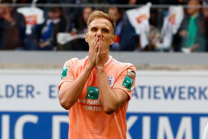Lukasz Teodorczyk sous les couleurs d'Anderlecht