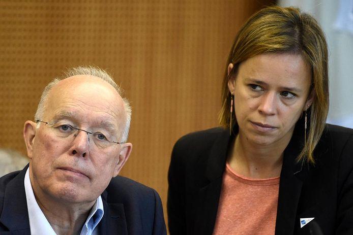 Waals minister van Onderwijs Caroline Désir (PS).