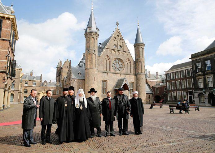 Religieuze leiders uit Oekraïne meldden zich afgelopen week op het Binnenhof. Ook zij hopen dat Nederland voor stemt.