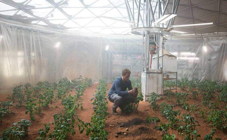 Beeld uit The Martian Beeld rv