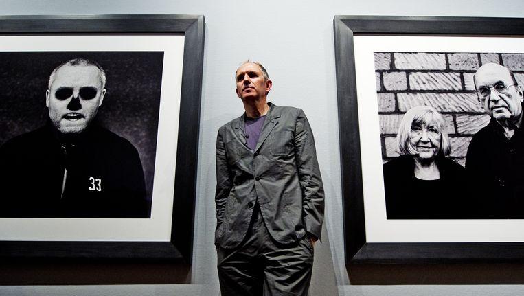 Anton Corbijn afgelopen juni bij de opening van een tentoonstelling van zijn werk in het Fotografiemuseum Amsterdam. Beeld ANP