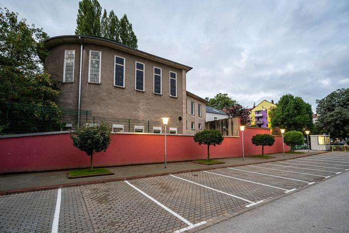 De synagoge in Hagen, Duitsland.
