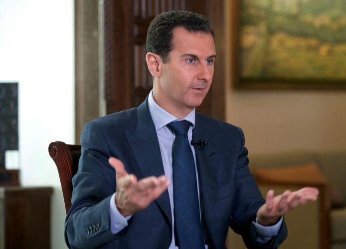 Syrische president Bashar al-Assad.