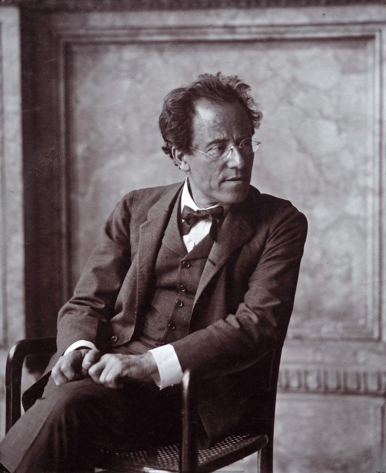 Gustav Mahler (1860-1911) dirigeerde zelf zijn eerste drie symfonieën bij de Berlijners. Beeld Getty Images