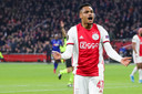 Danilo scorend voor Ajax, in januari in een volle Arena tegen Getafe.