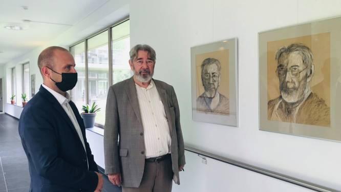 Oud-kunstleerkracht Dries Uyttenhove portretteert medebewoners van Groenhof: residentie organiseert expo voor zijn 80ste verjaardag