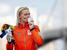 Onttroonde Sharon van Rouwendaal glundert met zilver: 'Dit is zo'n bijzondere prestatie'