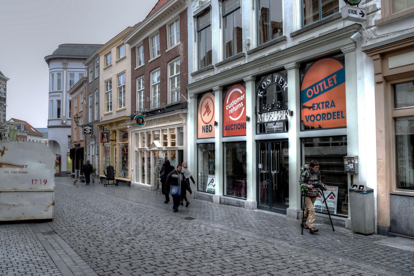 Bergen op Zoom - 28/03/18 - Het voormalige pand van Koster in de Fortuinstraat
