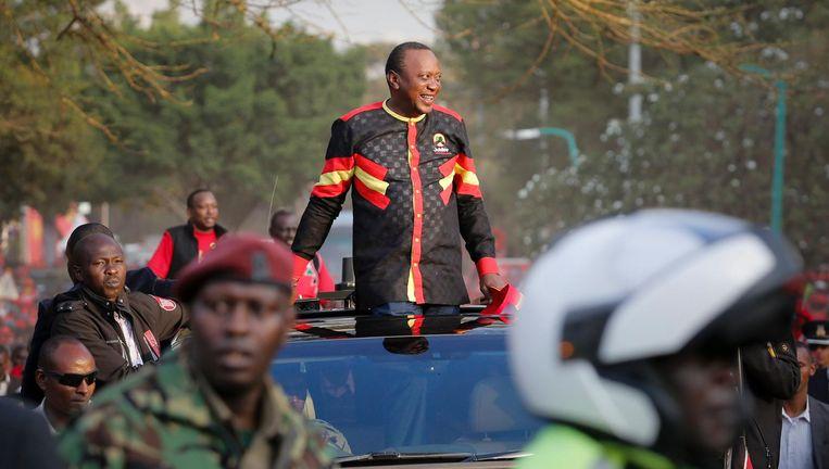 President Uhuru Kenyatta van Kenia Beeld afp