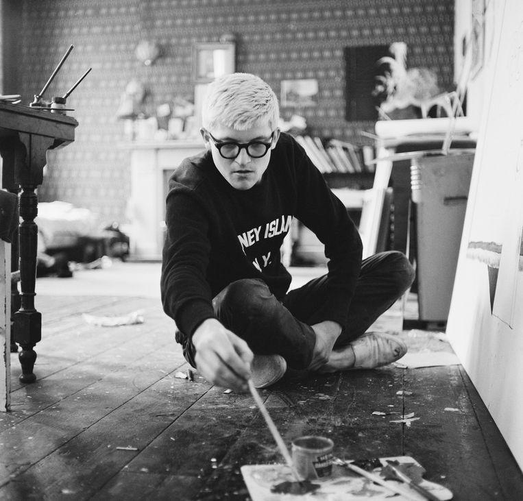 David Hockney in 1967. Beeld Getty Images