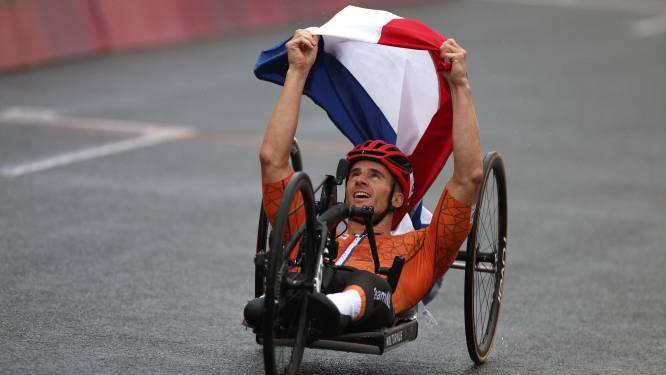 Gouden trilogie voor Jetze Plat op Paralympische Spelen