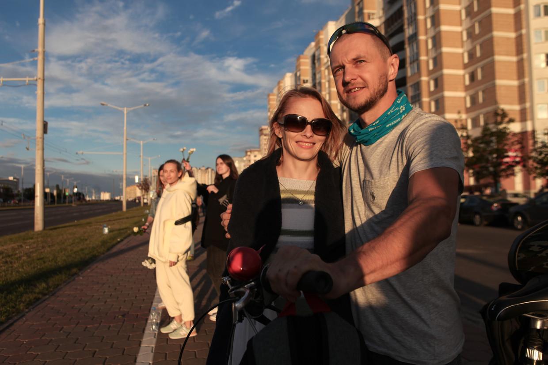 Aliaksandr Kuushynau hield voor de Volkskrant een dagboek bij van de afgelopen dagen in Minsk. Beeld Maxim S