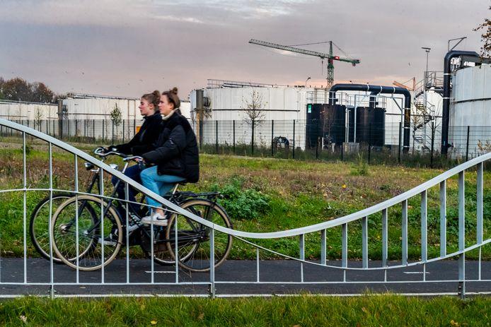 De rioolwaterzuivering in de Utrechtse wijk Overvecht wordt nooit helemaal stankvrij.