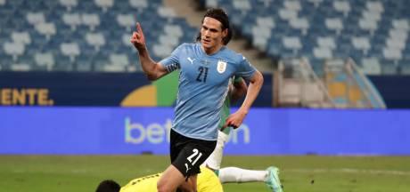 Uruguay naar laatste acht na eerste zege op Copa América