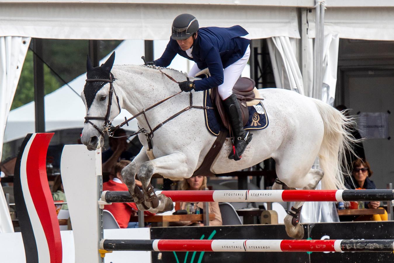 Winnaar van Otdoor Gelderland 2919 Eiken Sato uit Japan in actie.