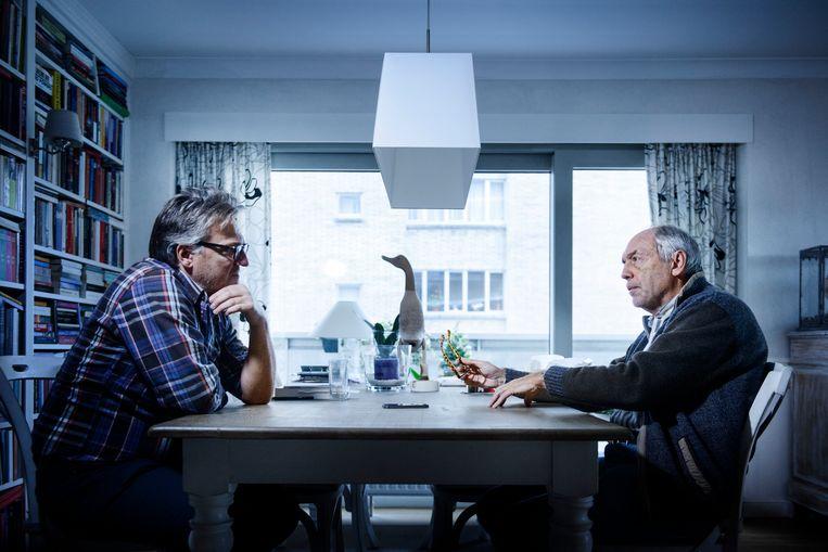 Wim Van Rooy en Joël De Ceulaer.  Beeld Eric de Mildt