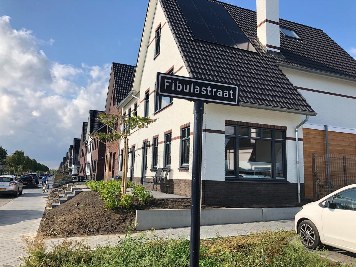 Nieuwbouw in Huissen.