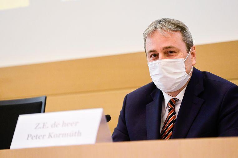 Peter Kormúth, ambassadeur van Slovakije in België. Beeld BELGA
