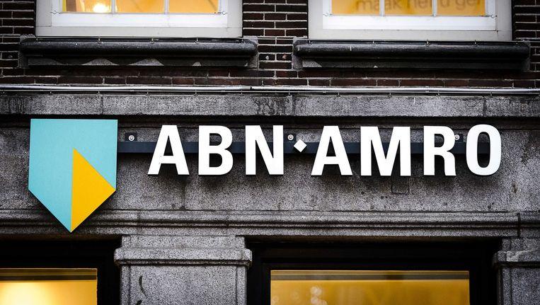 ABN Amro trekt vandaag onder grote belangstelling van het volk naar de beurs. Beeld ANP