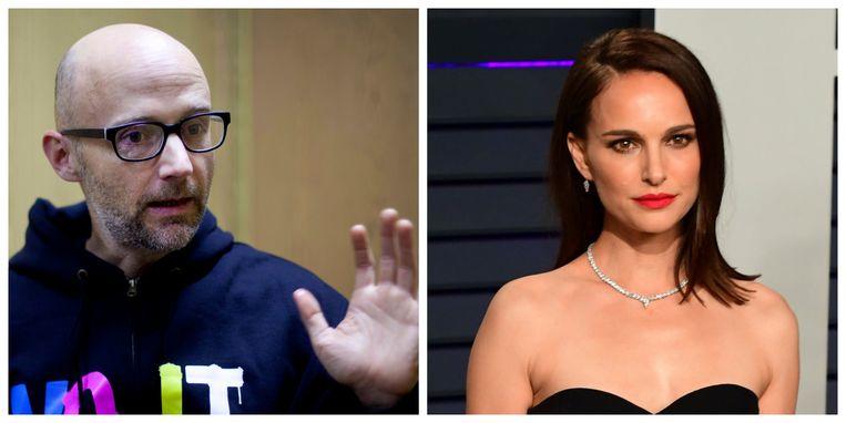 Moby en Natalie Portman