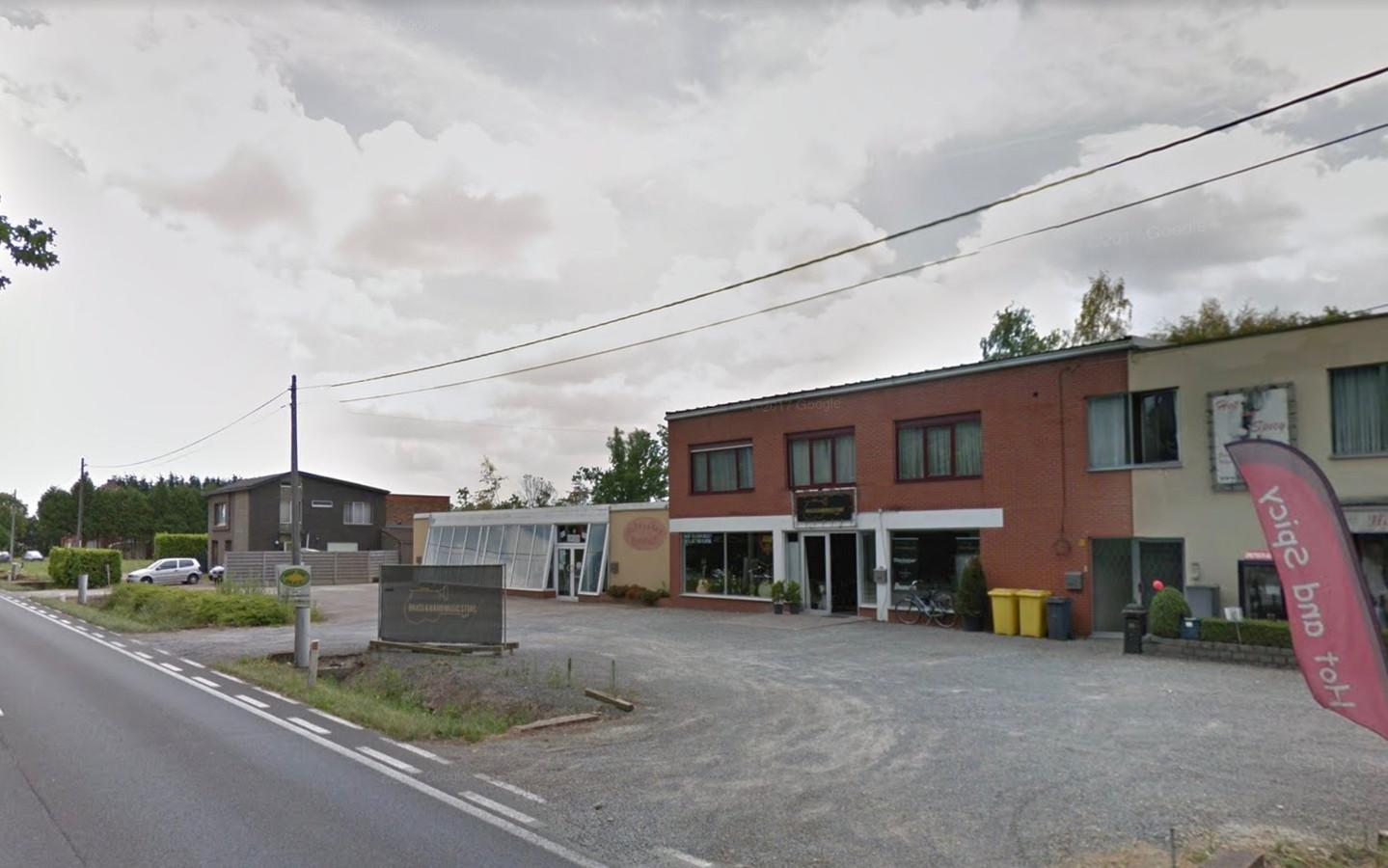 De muziekwinkel langs de Liersesteenweg in Heist-op-den-Berg