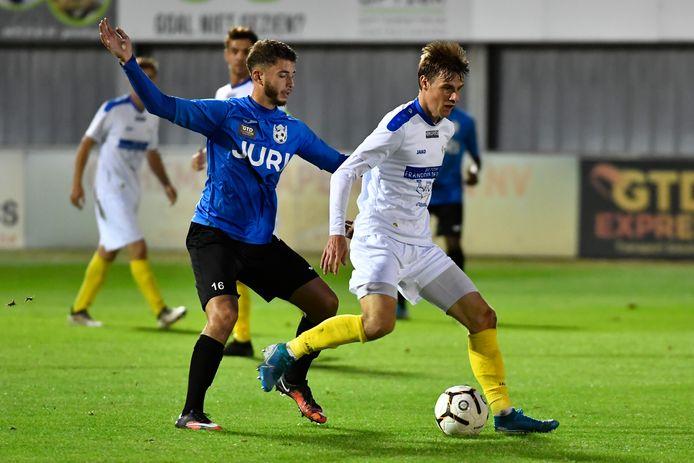 Hamme aan de slag tegen Stekene in één van de weinige afgewerkte competitiewedstrijden van 2020-21.