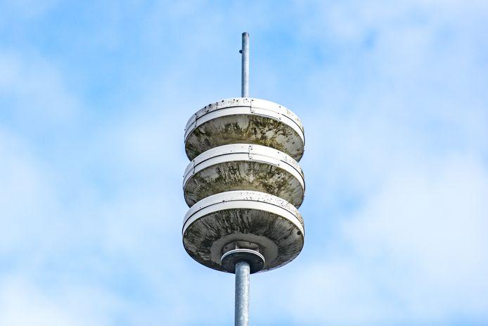 De maandelijkse sirenetest was niet te horen in de regio Gelderland-Zuid.