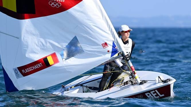 """Emma Plasschaert grijpt ondanks knappe medal race net naast medaille: """"Toch blik ik tevreden terug op deze Spelen"""""""