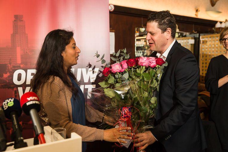 Jinnih Beels kreeg in maart het lijsttrekkerschap aangeboden van Tom Meeuws.