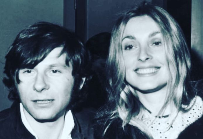 Roman Polanski en Sharon Tate.