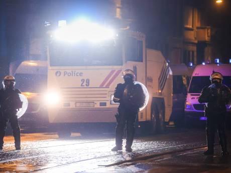 La police a fait usage de balles en caoutchouc lors des émeutes à Bruxelles